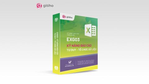 EXG03 - Kỹ năng báo cáo - Tư duy tổ chức dữ liệu trên Excel