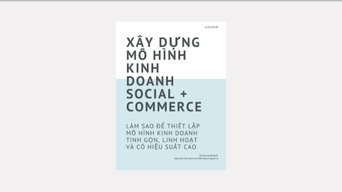 Ebook Xây dựng Mô hình kinh doanh Social + Commerce