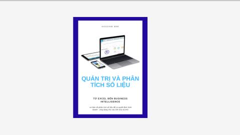 Ebook Phân tích số liệu . Từ excel đến Business Intelligence