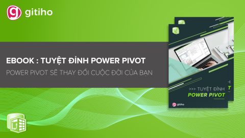 Ebook: Tuyệt đỉnh Power Pivot