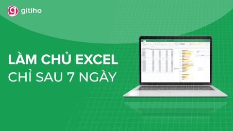 EXG01 - Tuyệt đỉnh Excel - Trở thành bậc thầy Excel trong 16 giờ