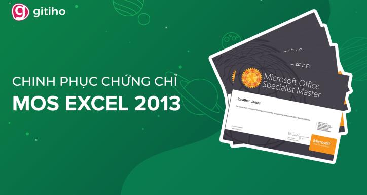 MOSE - Chinh phục MOS EXCEL 2013 cùng Nimbus