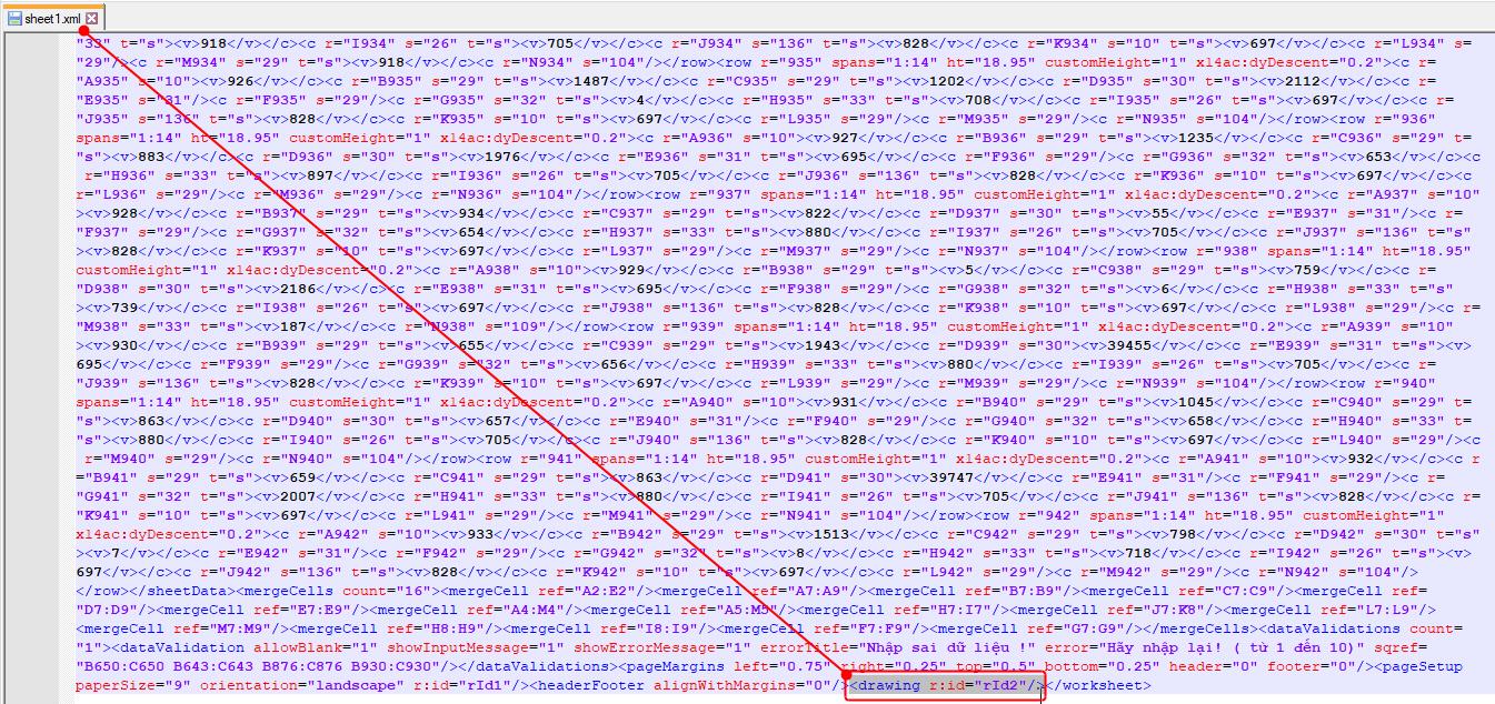 Hướng dẫn cách sửa file Excel bị nặng chậm, và gỡ bỏ mật khẩu bảo vệ file 8