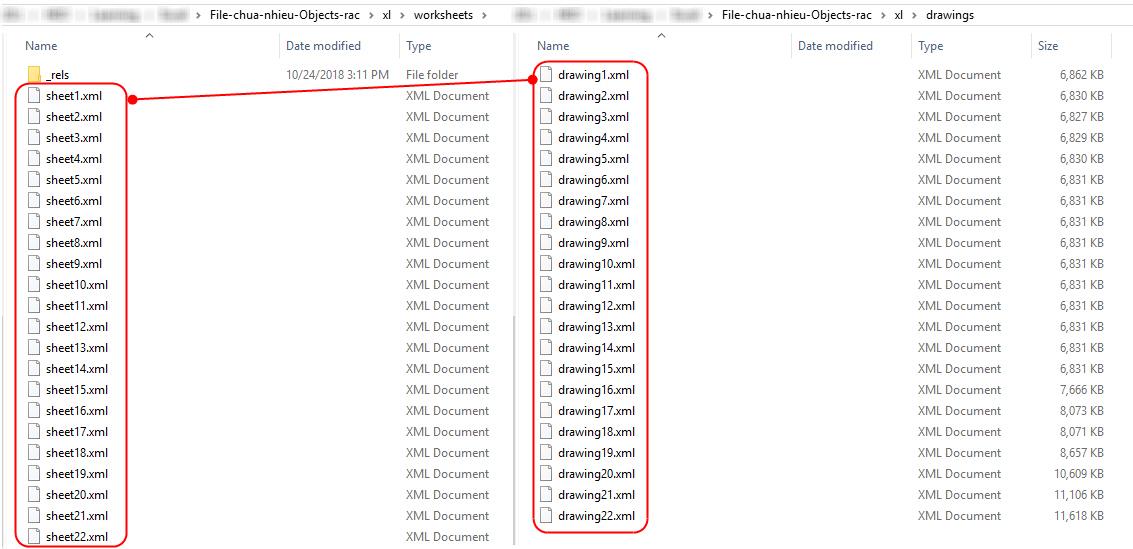 Hướng dẫn cách sửa file Excel bị nặng chậm, và gỡ bỏ mật khẩu bảo vệ file 7